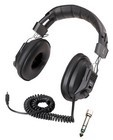 Califone 3068AV Switchable Stereo/Mono Headphones  with 3.5mm plug and 1/4 inch adapter