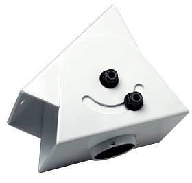 Peerless ACC556 Cathedral Ceiling Adapter - White