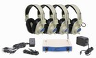 Califone CLS725-4 Wireless Headphone 4 pack blue - 72.500 MHz