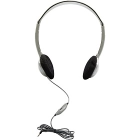 Hamilton Electronics HA2V SchoolMate Personal Mono/Stereo Headphone with in-line Volume