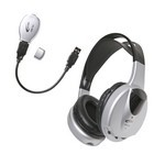 Califone HIR-KT1 Infrared Stereo/Mono Headphone with transmitter