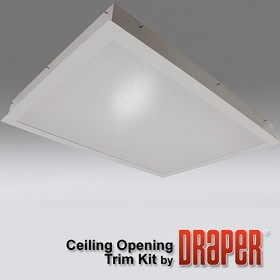 Draper 300286 SL Finishing Kit - Trim Ring and Closure Panel - White