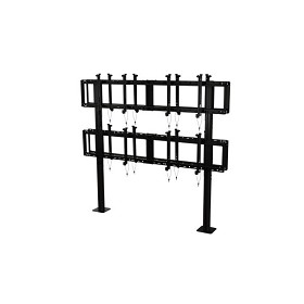 "Peerless DS-S560-B2X2 SmartMount Back-to-Back Modular Video Wall Pedestal Mount 2x2 Configuration for 46"" to 60"" TV's"