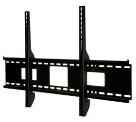 Peerless SF670 SmartMount Universal Fixed TV Mount for 46 - 90 Inch TV's with security fasteners - Black