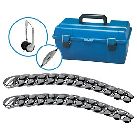 Hamilton Electronics LCP/24/HA2V Lab Pack, 24 HA2V Personal Headphones in a Carry Case