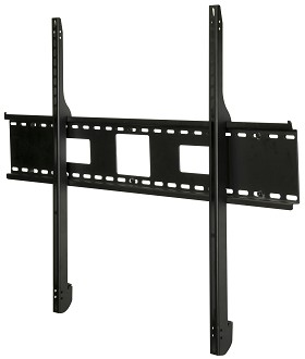 Peerless SF680 Security SmartMount Universal Flat TV Mount for 60 - 95 Inch TV's with security fasteners - Black