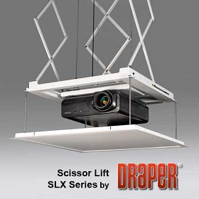 Draper 300254 SLX24 Scissor Projector Lift - Up to 24' Travel
