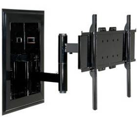 Peerless IM760PU-S Universal In-Wall TV Mount for 32 - 71 Inch TV's - Silver