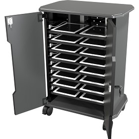 Mooreco 27689 Economy 16 Tablet Charging Cart