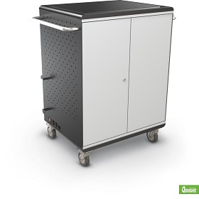 Mooreco 27702 Tablet Security and Storage Cart (Ready to Assemble-No Power)