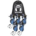 Hamilton SOP-SCAMV Sack-O-Phones 5 iCompatible Deluxe Headset with In-Line Microphone