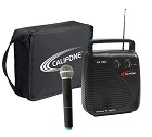 Califone PA-10A PA Pro Portable PA System 206.400 MHz frequency