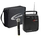 Califone PA-10b PA Pro Portable PA System 210.250 MHz frequency