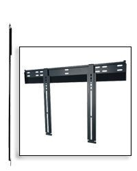 Peerless Slimline SUF660P Ultra Thin Flat Wall Mount for 37 in. - 60 in. Flat Panel Screens