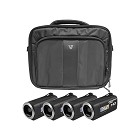 Hamilton Electronics HDV5200-4 HD Camcorder Explorer Kit with 4 Cameras, Software and Case