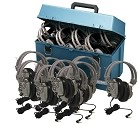 Hamilton Electronics HMC/24/SC7V Lab pack w/ 24 SC7V Headphones in Large Carry Case