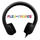 HamiltonBuhl Flex-Phones, Foam Headphones, Black