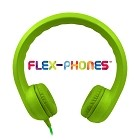 HamiltonBuhl Flex-Phones, Foam Headphones, Green