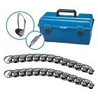 Hamilton Electronics LCP/24/MS2LV Lab Pack, 24 MS2LV Personal Headphones in a Carry Case