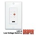 Draper 121246 3 Lift Low Voltage Wall Switch