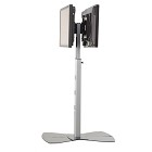 Chief MF2US Height Adjustable Dual TV Stand - Black