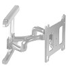 Chief PNRUS Universal Flat Panel Dual Swing Arm Wall Mount (42-71 inch Displays) - Silver