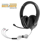 HamiltonBuhl Trios Multimedia Headset with Steel Reinforced Gooseneck Mic