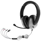HamiltonBuhl TriosPlus Multimedia Headset with Steel Reinforced Gooseneck Mic